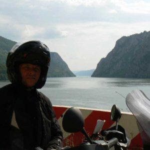 Do Albanii 2009 - Serbia, kanion Derdap na Dunaju
