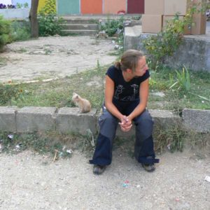 Do Albanii 2009 - serbski kot