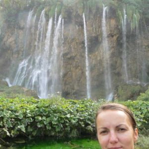 Do Albanii 2009 - Park Narodowy Plitwickie Jeziora w Chorwacji