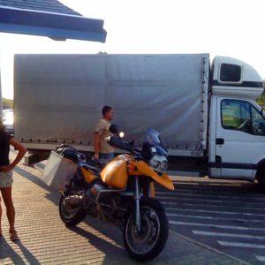 Do Albanii 2009 - pierwszy etap akcji ratunkowej na Węgrzech