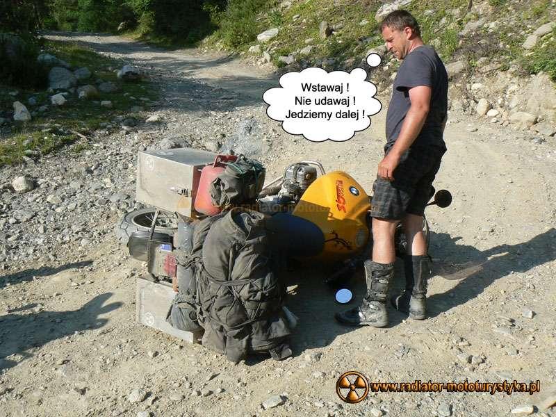 Poradnik podróżującego motocyklisty – część VI – bezpieczeństwo w podróży