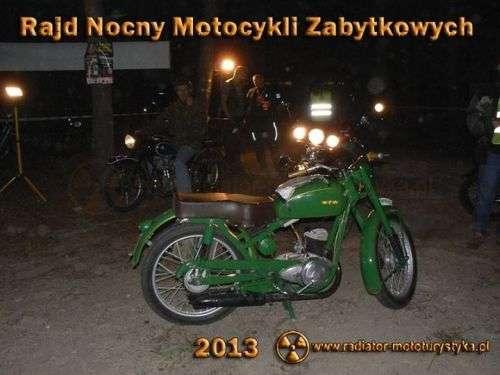 Egzotyczna akcja czyli VI Nocny Rajd Motocykli Zabytkowych / Film