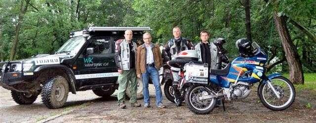 Władywostok bez barier 2013. Cztery nogi – trzy motocykle.