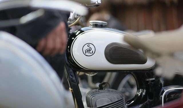 """""""Santos"""" na Świętokrzyskim Zlocie Motocykli SHL"""