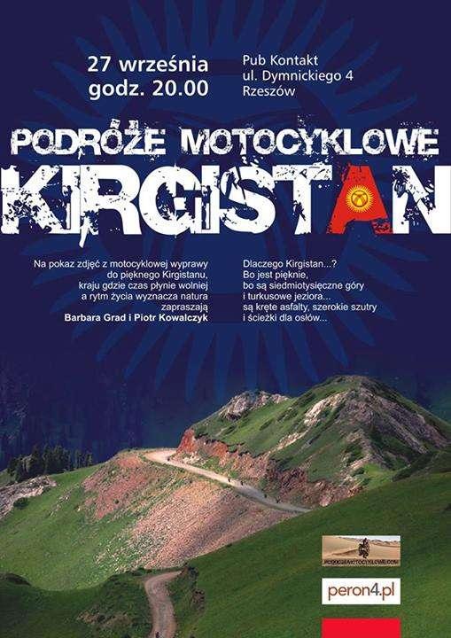 Podróże Motocyklowe – Kirgistan – pokaz slajdów