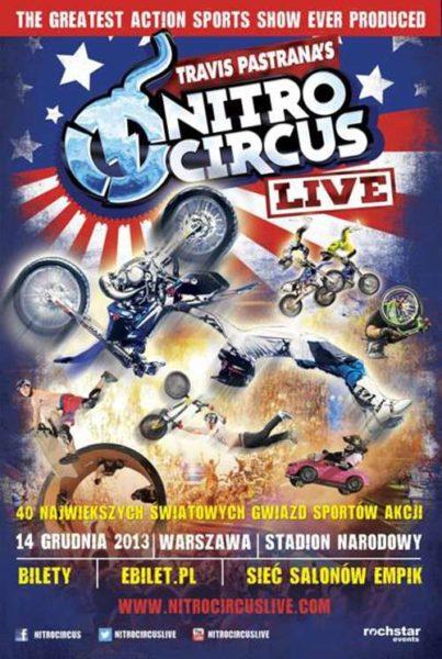 NITRO CIRCUS LIVE na Stadionie Narodowym w Warszawie