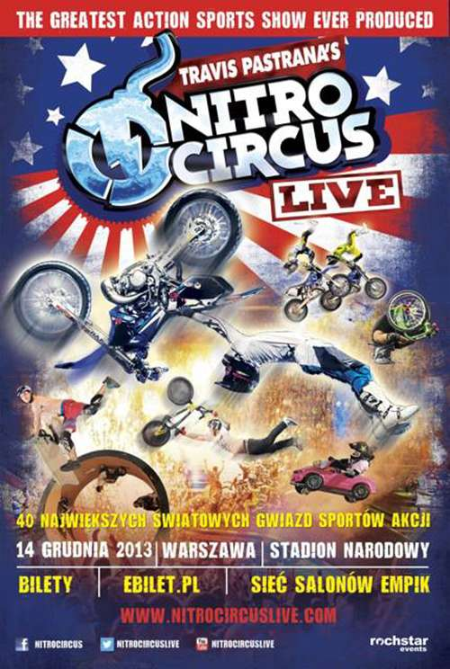 NITRO CIRCUS LIVE – Warszawa 2013