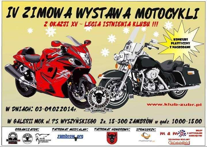 IV Zimowa Wystawa Motocykli – Zambrów