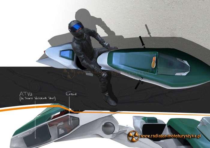 Aviomoto – latający motocykl