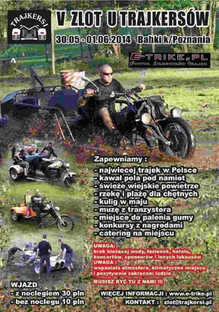 III Zlot Trajkersów 30.05-01.06.2014 – Babki k/Poznania
