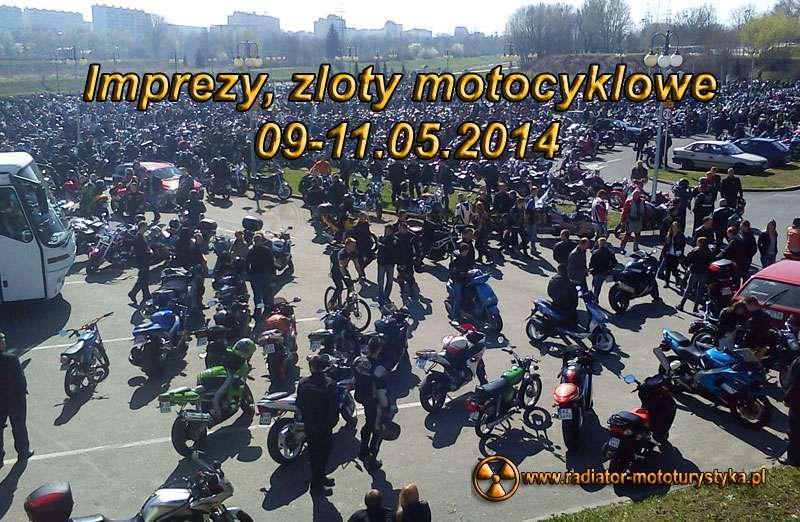 Zloty motocyklowe 09-11.05.2014