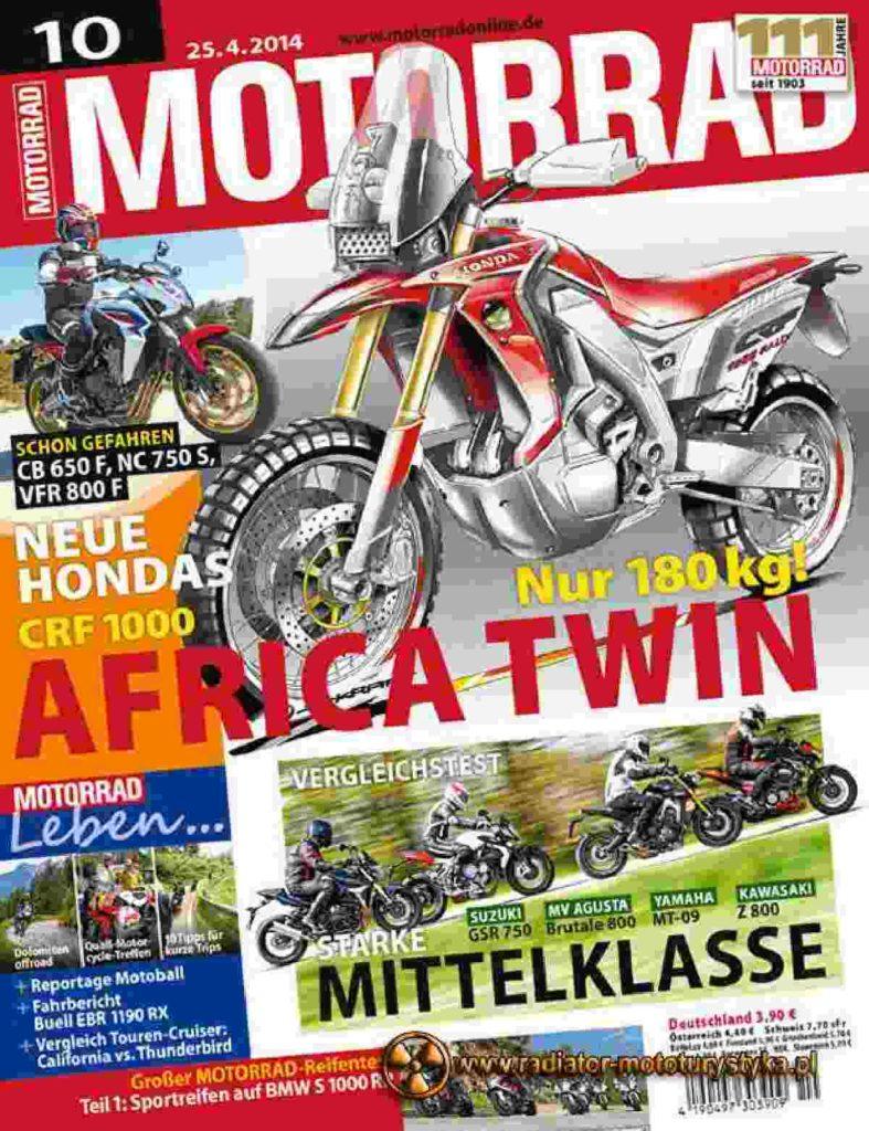 Nowa Honda  – Africa Twin CRF1000 2015
