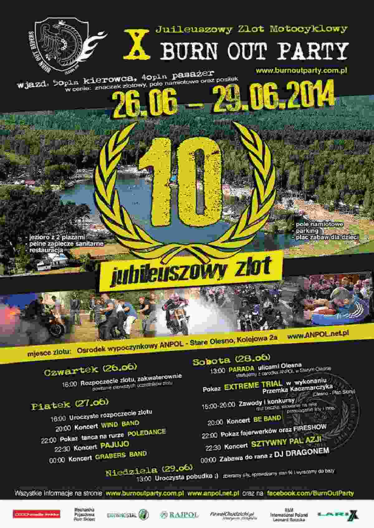 X Burn Out Party 26-29.06.2014 – Stare Olesno
