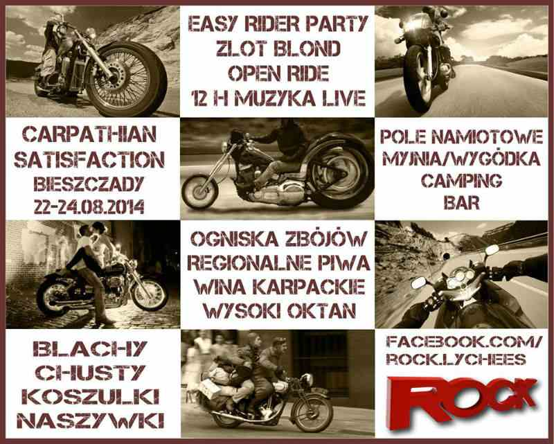 Carpathian Satisfaction 22-24.08.2014 – Solina – ODWOŁANE !