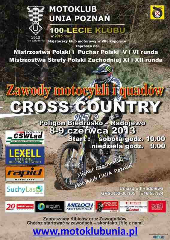 Mistrzostwa Polski i Puchar Polski – Cross Country
