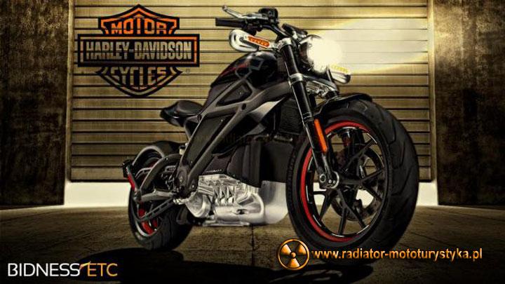 Harley Davidson z elektrycznym sercem