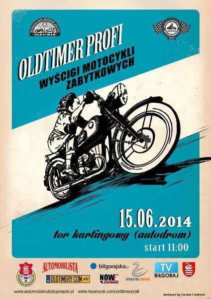 Wyścig Motocykli Zabytkowych 2 Oldtimer Profi 15.06.2014 – Biłgoraj