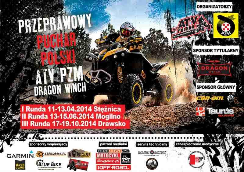 II Runda Przeprawowego Pucharu Polski ATV 13-15.06.2014 – Mogilno