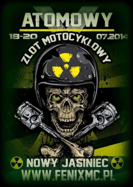 V Atomowy Zlot Motocyklowy 18-20.07.2014 – Nowy Jasiniec