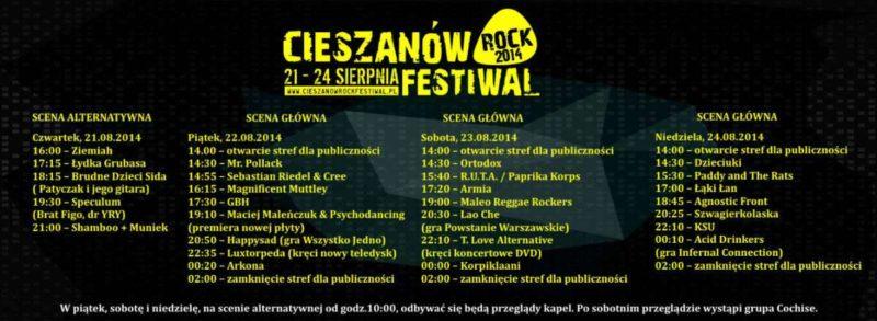 Cieszanów Rock Festival 2014
