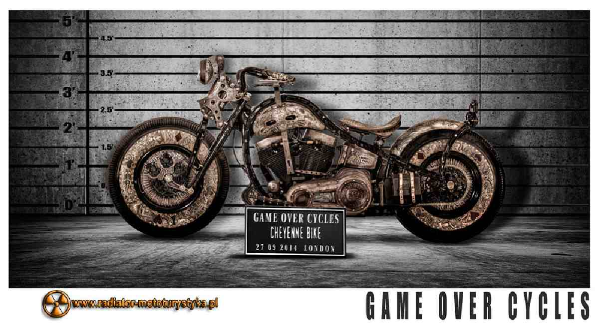 Cheyenne Bike - The Recidivist fot. Game Over Cycles