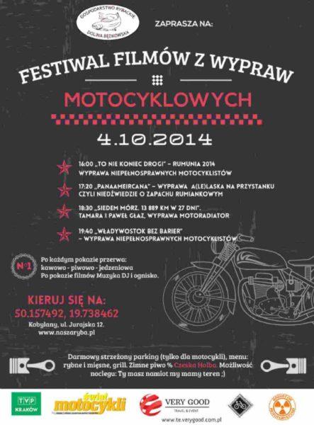 Festiwal Filmów z Wypraw Motocyklowych 04.10.2014 – Kobylany k. Krakowa