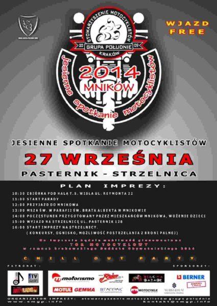 Jesienne Spotkanie Motocyklistów 27.09.2014 – Mników