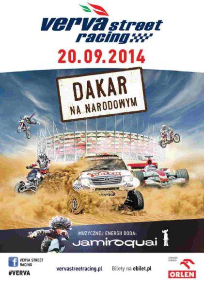 Jamiroquai na żywo podczas VERVA Street Racing – Dakar na Narodowym!