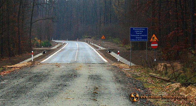 Ostatnia gruntowa droga wojewódzka 867 zyskała nawierzchnię ?