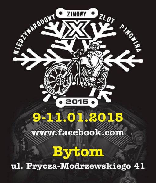 X Zimowy Motocyklowy Zlot Pingwina 09-11 Stycznia 2015