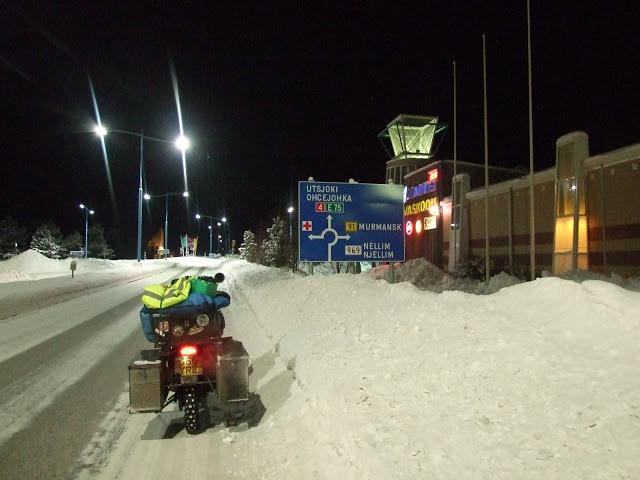 Rovaniemi – samotny rajd przez śniegi…
