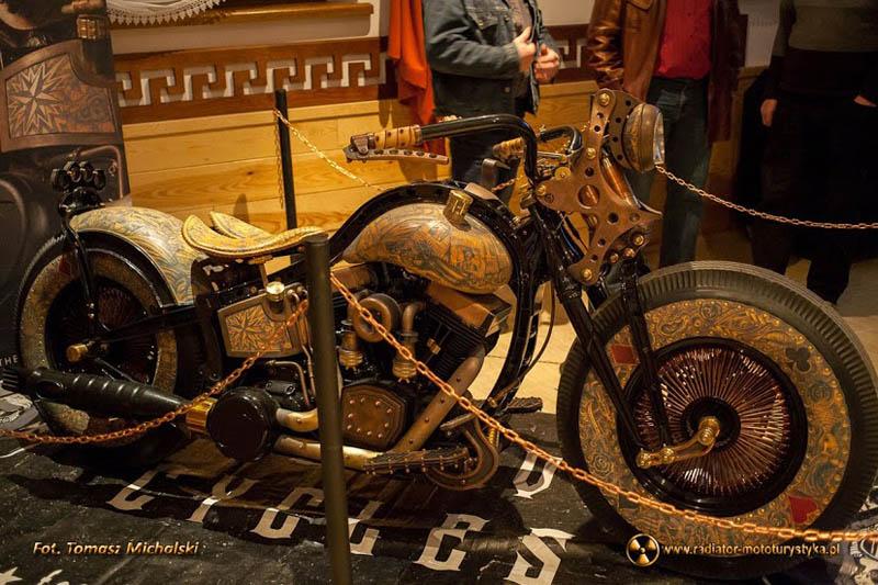 Jak powstał pierwszy na świecie wytatuowany motocykl – premiera filmu
