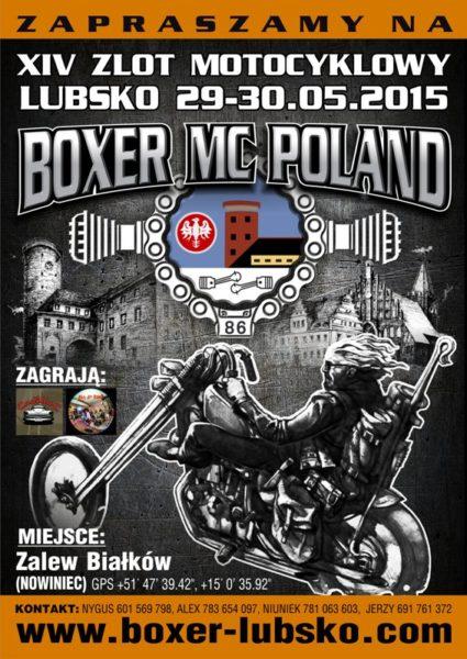 Zlot Motocyklowy Boxer Mc Poland – 29-30.05.2015 Lubsko