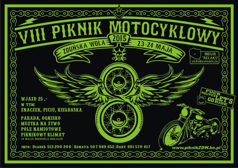 VIII Piknik Motocyklowy – 23-24.05.2015 Zduńska Wola