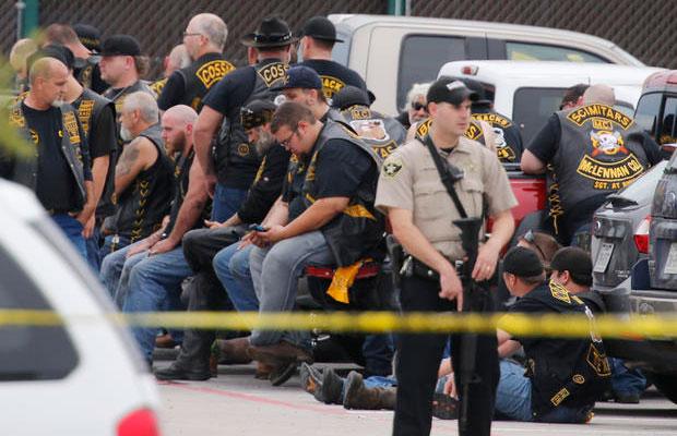 Bitwa gangów motocyklowych w Teksasie. Zginęło dziewięć osób.