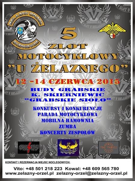 V Zlot u Żelaznego – 12-14.05.2015 Budy Grabskie