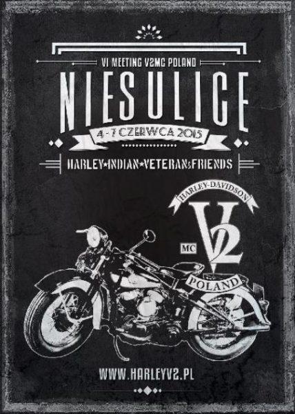 VI Meeting V2 – Harley, Indian, Veteran & Friends – 04-07.06.2015 Niesulice