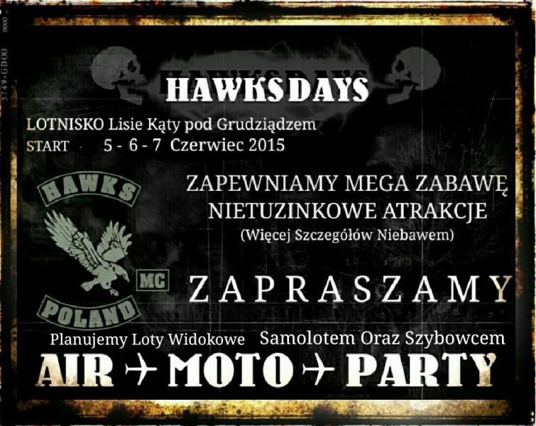 Hawks Days – 05-07.06.2015 Lotnisko Grudziądz-Lisie Kąty