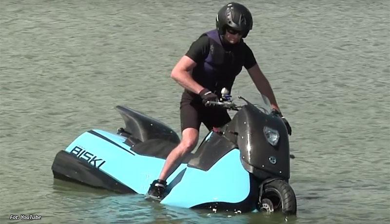 Pływające motocykle