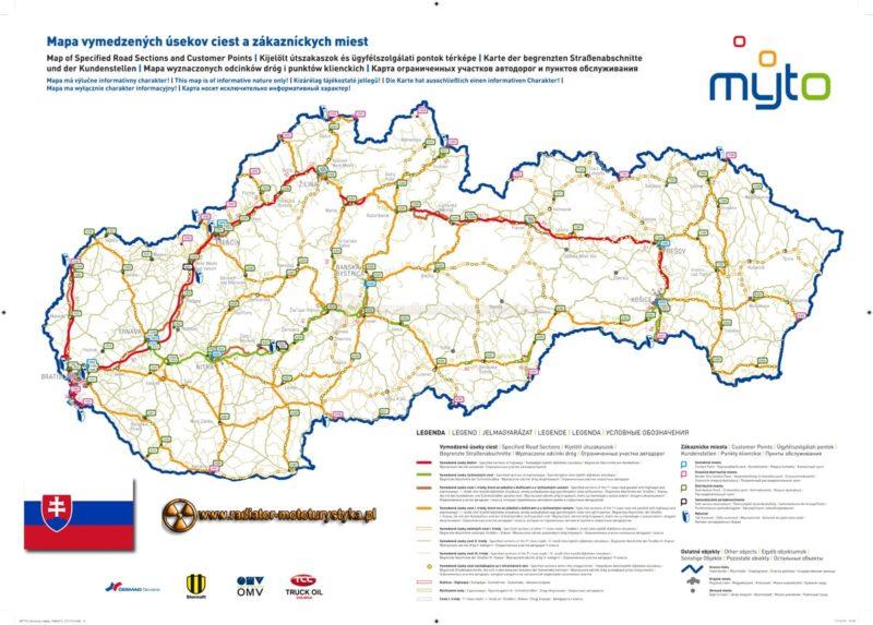 Ewiniety na słowackich autostradach i drogach szybkiego ruchu – wniosek