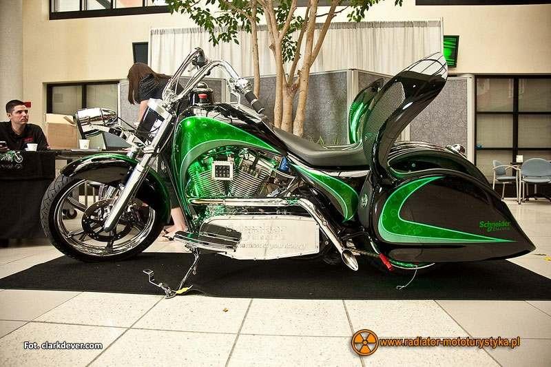 Motocykle z napędem hybrydowym