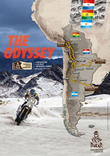 Kulisy Dakar 2017