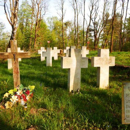 Lubaczów i Roztocze Wschodnie motocyklem - Monastyrz - cmentarz z I wojny światowej