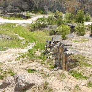 Z imprezy w Szałasie nad Tanwią - kamieniołom w Józefowie