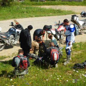 Enduro Polulanka - piękno i piekło mordoru - Ukraina - połoniny motocyklowo