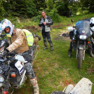 Enduro Polulanka - piękno i piekło mordoru - Ukraina - połoniny motocyklowo w drodze na Pikuj