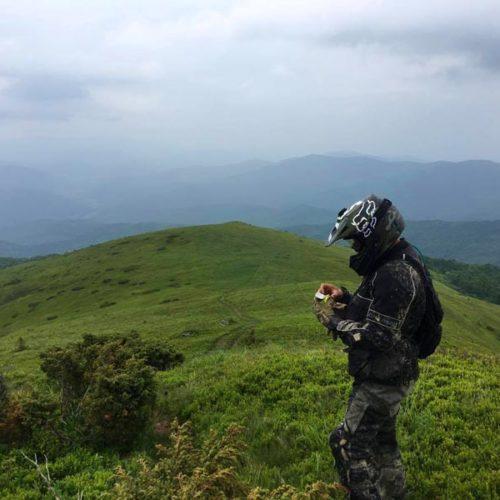 Enduro Polulanka - piękno i piekło mordoru - Ukraina - połoniny motocyklowo - Ostra Hora