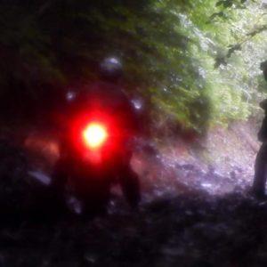 Enduro Polulanka - piękno i piekło mordoru - Ukraina - połoniny motocyklowo - zjazd z Ostra Hora