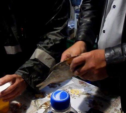 Enduro Polulanka - piękno i piekło mordoru - Ukraina - połoniny motocyklowo - degustacja suszonej ryby