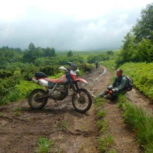 Enduro Polulanka - piękno i piekło mordoru - Ukraina - połoniny motocyklowo - na Pikuj